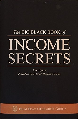 Photo of the Palm Beach Group's Big Black Book of Income Secrets Book Cover