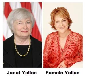 Janet Yellen and Pamela Yellen