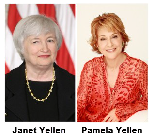 Janet Yellen and Pamela Yellen
