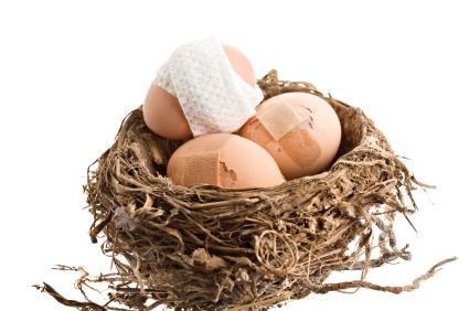 Damaged Nest Eggs