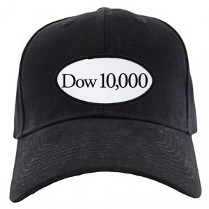 Dow 10,000 Commorative Hat