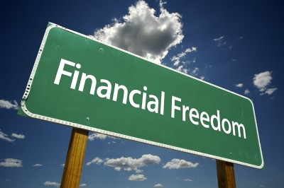 Financial-Freedom-Sign