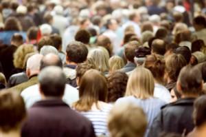 Herd of people