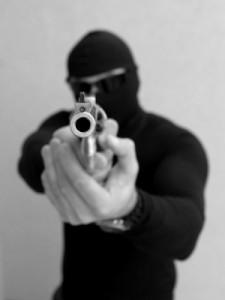 Held up at gunpoint