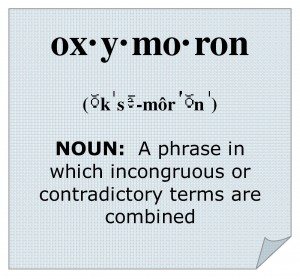OXYMORON defined