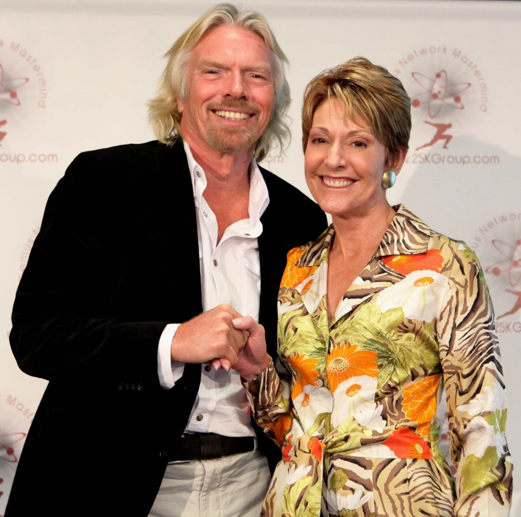 Pamela Yellen & Sir Richard Branson