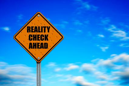 Caution Reality Ahead