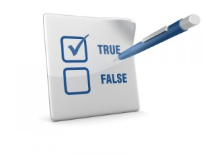 How do you answer these 10 true or false financial literacy statements