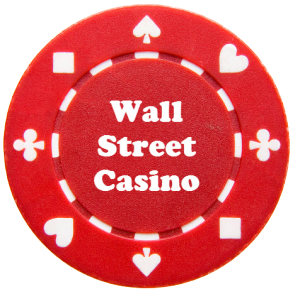 Wall Street Casino Chip