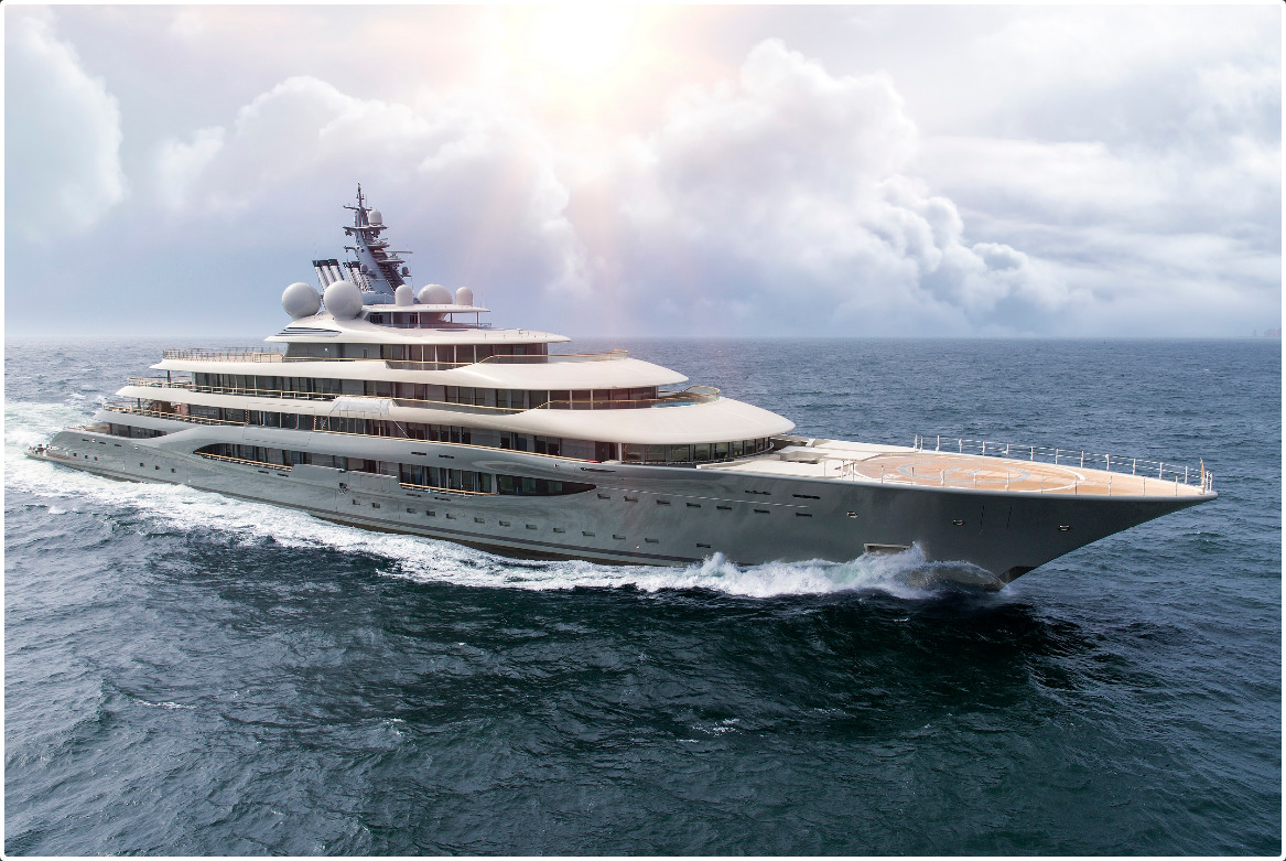Bank On Yourself is more than just traditional life insurance, just as this 446-foot Superyacht is more than just a boat.