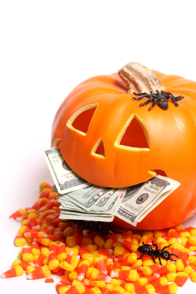 Don't let the Halloween pumpkin eat your financial security. Take the Bank On Yourself Fear Factors Challenge