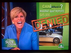 Suze Orman has only 4% of her portfolio in the stock market