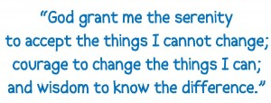 serenity prayer quote