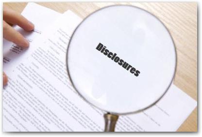 401K Disclosures
