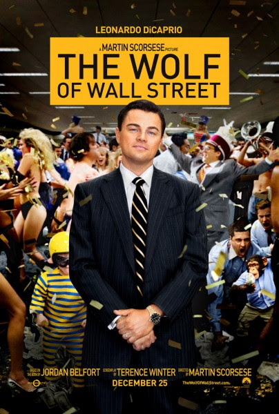 The WOLF of Wall Street Poster